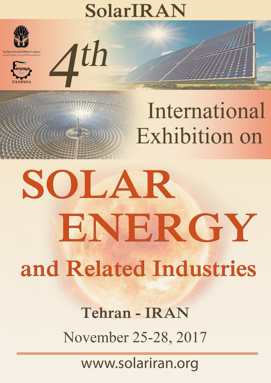4th International Exhibition on Solar Energy and Related Industries-Solariran